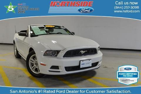 2014 Ford Mustang Convertible for sale in San Antonio for $22,950 with 38,837 miles