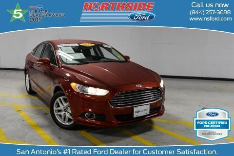 2014 Ford Fusion SE Sedan for sale in San Antonio for $18,665 with 37,958 miles