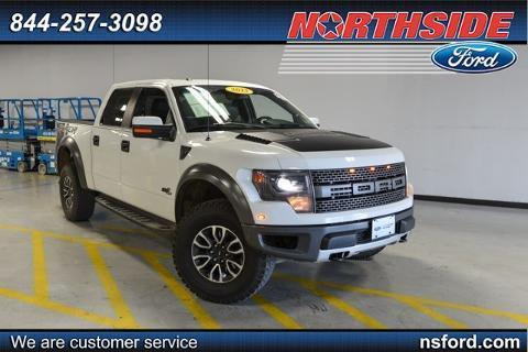 2013 Ford F150 SVT Raptor Crew Cab Pickup for sale in San Antonio for $52,879 with 30,393 miles.