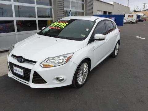 2012 Ford Focus SEL Hatchback for sale in El Paso for $14,988 with 47,127 miles