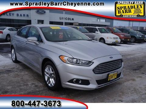2013 Ford Fusion SE Sedan for sale in Cheyenne for $17,891 with 33,536 miles.