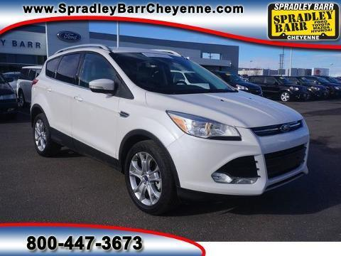 2014 Ford Escape Titanium SUV for sale in Cheyenne for $26,582 with 34,680 miles.