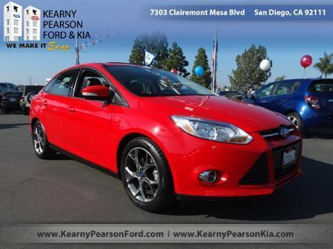 2013 Ford Focus SE Sedan for sale in San Diego for $15,988 with 43,309 miles.