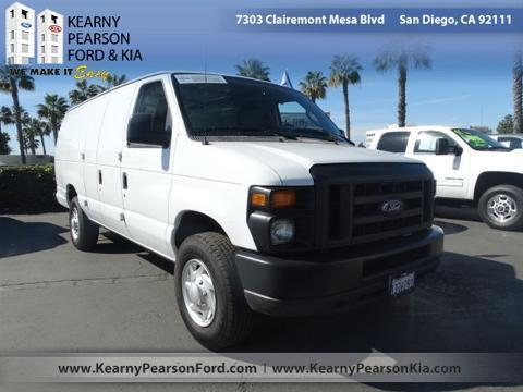 2014 Ford E250 Cargo Cargo Van for sale in San Diego for $26,988 with 20,238 miles.