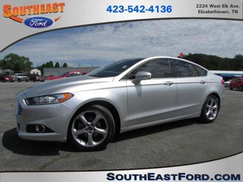 2013 Ford Fusion SE Sedan for sale in Elizabethton for $0 with 27,061 miles