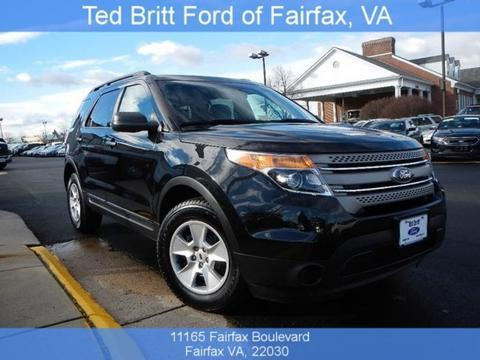 2014 Ford Explorer Base SUV for sale in Fairfax for $28,777 with 15,747 miles.