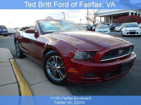 2014 Ford Mustang V6 Convertible for sale in Fairfax for $20,772 with 27,344 miles.