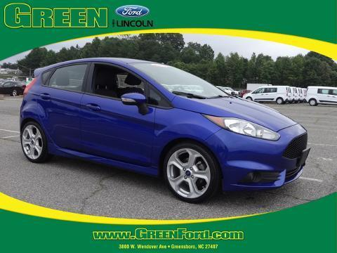 2014 Ford Fiesta ST Hatchback for sale in Greensboro for $21,999 with 10,387 miles.