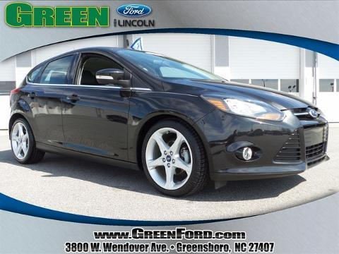 2013 Ford Focus Titanium Hatchback for sale in Greensboro for $17,999 with 49,114 miles