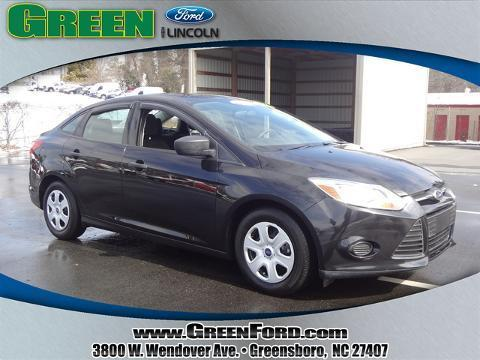 2013 Ford Focus S Sedan for sale in Greensboro for $12,315 with 32,096 miles