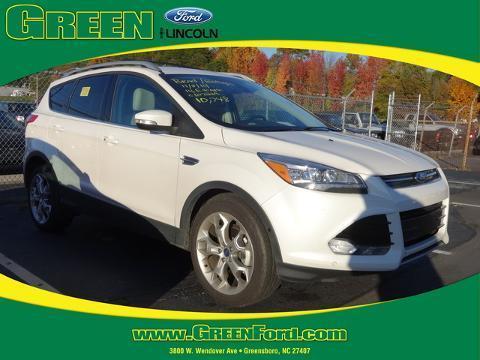 2014 Ford Escape Titanium SUV for sale in Greensboro for $25,999 with 10,748 miles.