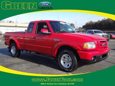 2011 Ford Ranger Sport Extended Cab Pickup for sale in Greensboro for $18,999 with 23,498 miles.