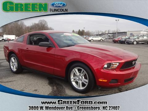 2010 Ford Mustang Coupe for sale in Greensboro for $16,615 with 25,050 miles.