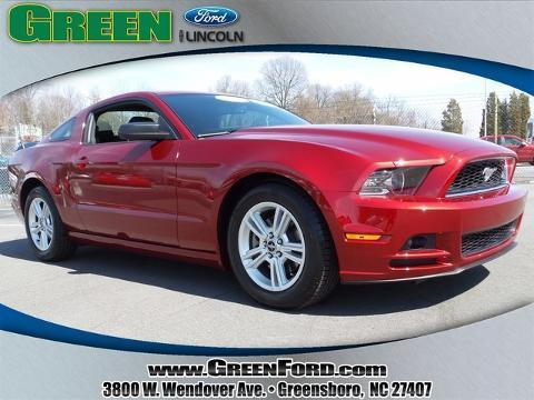 2014 Ford Mustang V6 Coupe for sale in Greensboro for $21,999 with 10,884 miles