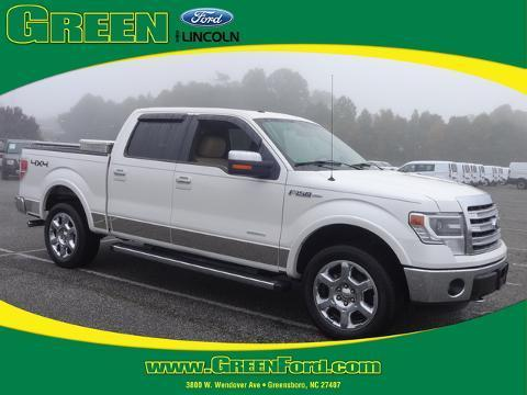 2013 Ford F150 Lariat Crew Cab Pickup for sale in Greensboro for $42,000 with 7,588 miles.