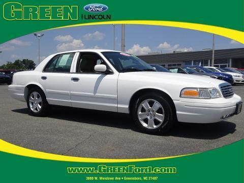 2011 Ford Crown Victoria LX Sedan for sale in Greensboro for $16,000 with 47,120 miles.