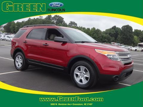 2013 Ford Explorer Base SUV for sale in Greensboro for $25,000 with 29,912 miles.