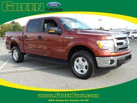 2014 Ford F150 Crew Cab Pickup for sale in Greensboro for $33,000 with 8,671 miles.