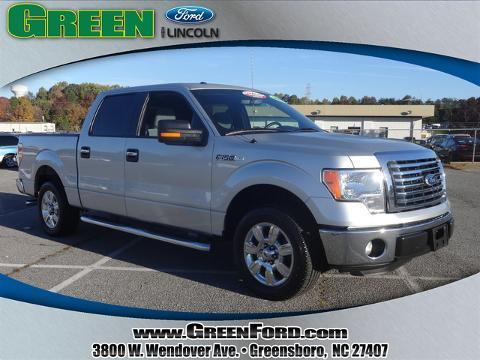 2011 Ford F150 XLT Crew Cab Pickup for sale in Greensboro for $27,999 with 35,803 miles.