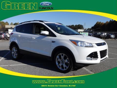 2013 Ford Escape SEL SUV for sale in Greensboro for $24,999 with 24,410 miles.