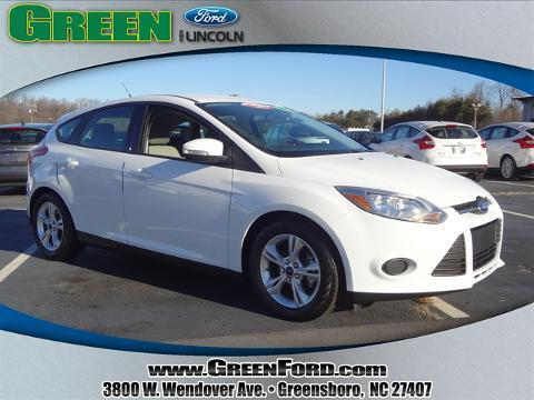 2014 Ford Focus SE Hatchback for sale in Greensboro for $16,999 with 12,200 miles.