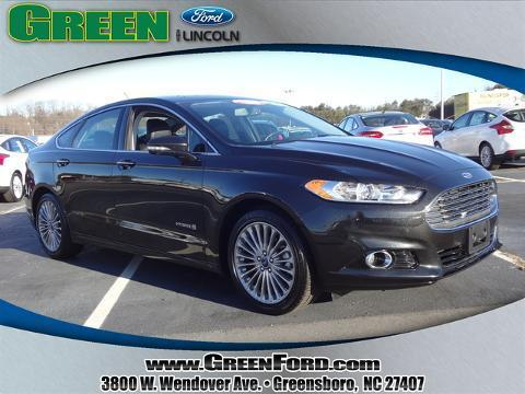 2014 Ford Fusion Hybrid Titanium Sedan for sale in Greensboro for $25,999 with 25,988 miles.