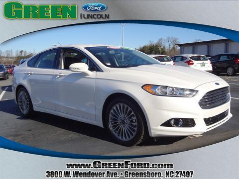 2014 Ford Fusion Titanium Sedan for sale in Greensboro for $24,999 with 28,332 miles