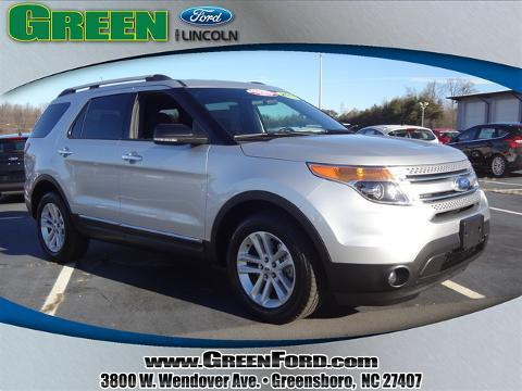 2013 Ford Explorer XLT SUV for sale in Greensboro for $30,999 with 20,405 miles.