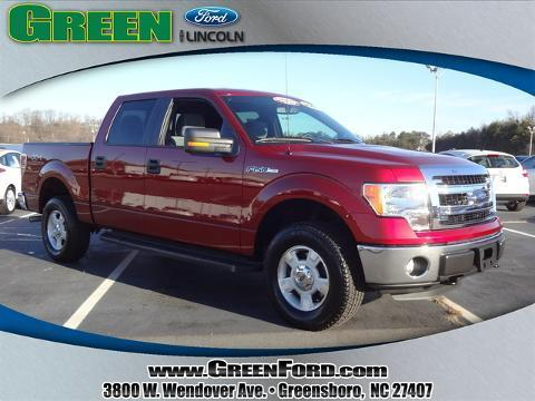 2014 Ford F150 XLT Crew Cab Pickup for sale in Greensboro for $33,999 with 14,380 miles.
