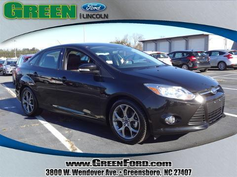 2014 Ford Focus SE Sedan for sale in Greensboro for $17,999 with 18,372 miles