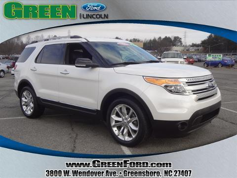 2013 Ford Explorer XLT SUV for sale in Greensboro for $31,999 with 24,001 miles.