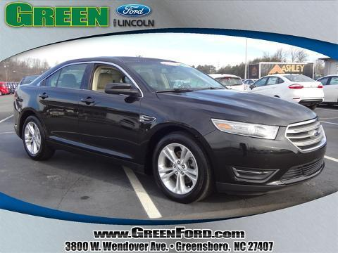 2014 Ford Taurus SEL Sedan for sale in Greensboro for $23,999 with 24,547 miles.