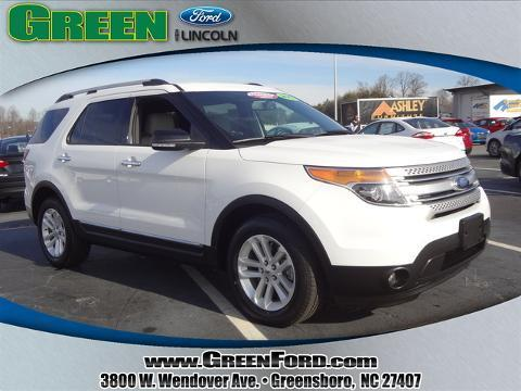2013 Ford Explorer XLT SUV for sale in Greensboro for $30,999 with 28,646 miles.