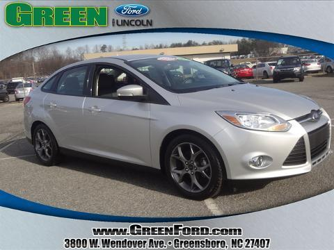 2014 Ford Focus SE Sedan for sale in Greensboro for $17,999 with 11,600 miles.