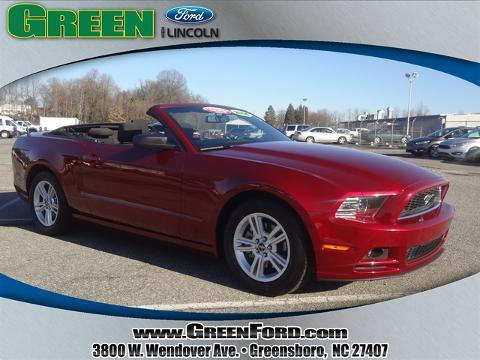 2014 Ford Mustang V6 Convertible for sale in Greensboro for $24,999 with 11,128 miles