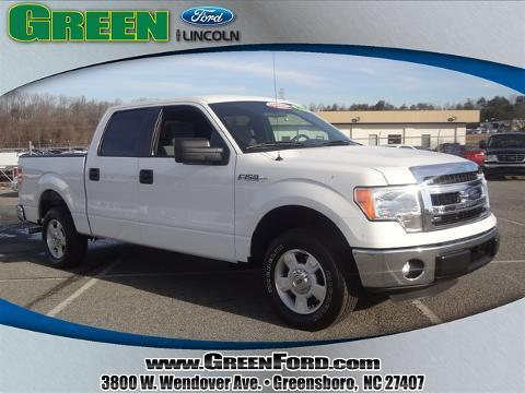 2014 Ford F150 XLT Crew Cab Pickup for sale in Greensboro for $26,999 with 20,181 miles.