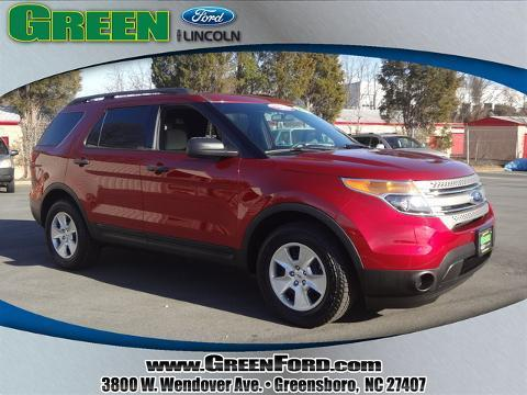 2013 Ford Explorer Base SUV for sale in Greensboro for $24,999 with 38,776 miles