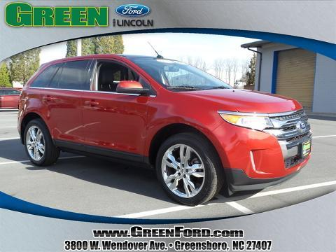 2012 Ford Edge Limited SUV for sale in Greensboro for $26,999 with 25,476 miles