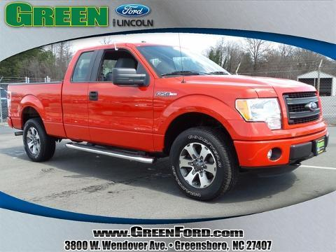 2013 Ford F150 STX Extended Cab Pickup for sale in Greensboro for $34,999 with 23,841 miles
