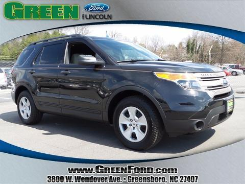 2013 Ford Explorer Base SUV for sale in Greensboro for $28,999 with 14,369 miles