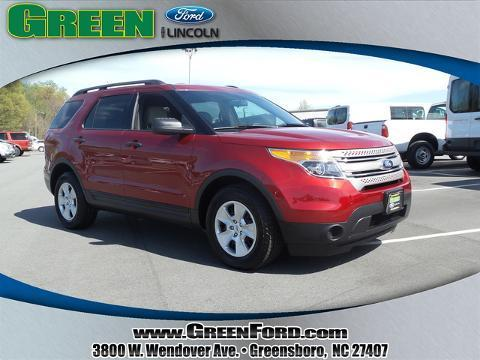 2013 Ford Explorer Base SUV for sale in Greensboro for $28,999 with 25,730 miles
