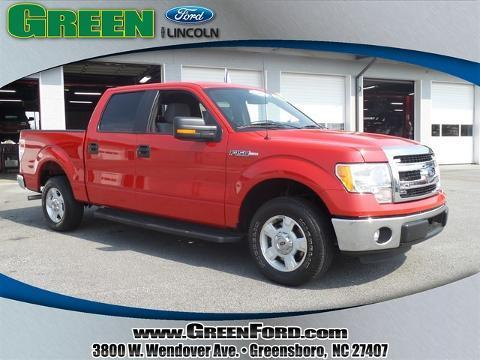 2014 Ford F150 XLT Crew Cab Pickup for sale in Greensboro for $29,999 with 29,095 miles
