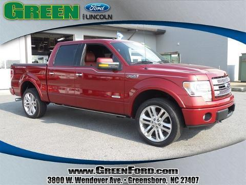 2013 Ford F150 Limited Crew Cab Pickup for sale in Greensboro for $44,999 with 30,654 miles