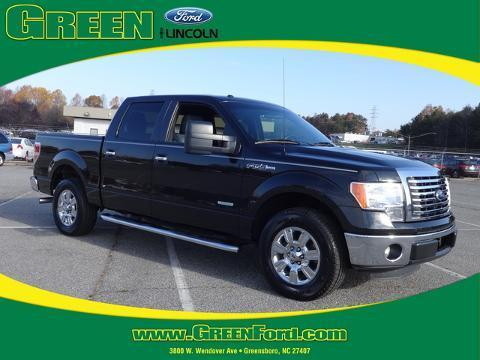 2012 Ford F150 XLT Crew Cab Pickup for sale in Greensboro for $28,999 with 36,320 miles.