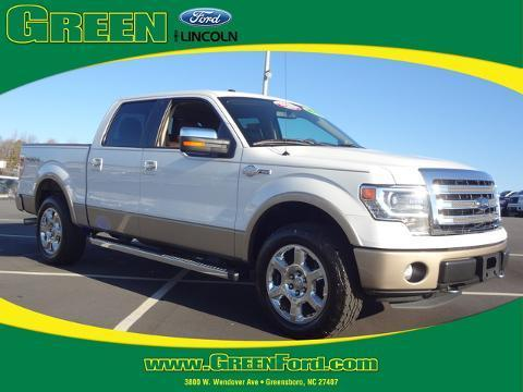 2013 Ford F150 King Ranch Crew Cab Pickup for sale in Greensboro for $38,999 with 47,053 miles.