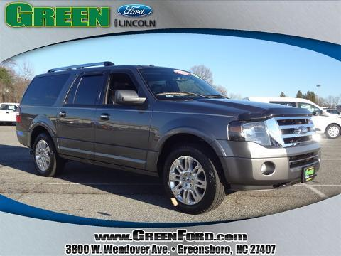2012 Ford Expedition EL Limited SUV for sale in Greensboro for $38,999 with 30,592 miles.