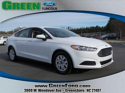 2014 Ford Fusion S Sedan for sale in Greensboro for $17,999 with 37,776 miles