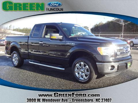 2013 Ford F150 XLT Extended Cab Pickup for sale in Greensboro for $26,999 with 12,042 miles.