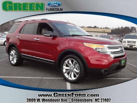 2015 Ford Explorer XLT SUV for sale in Greensboro for $35,456 with 1,692 miles.