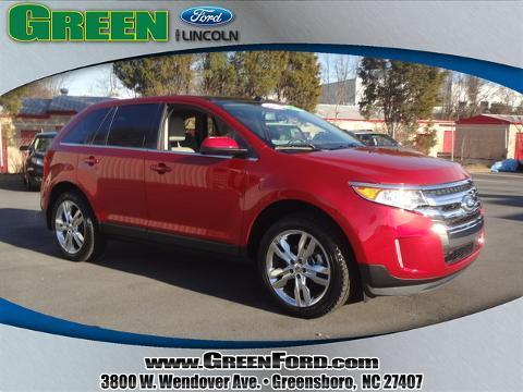 2011 Ford Edge Limited SUV for sale in Greensboro for $21,999 with 47,311 miles.